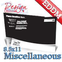 8.5x11 Every Door Direct Mail Design Online